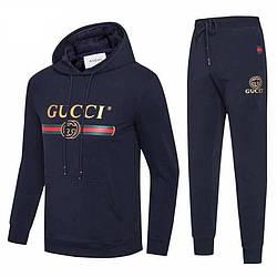 Спортивный костюм Gucci XL Синий (8040)
