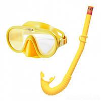 Детский набор для плавания маска с трубкой Intex 55642