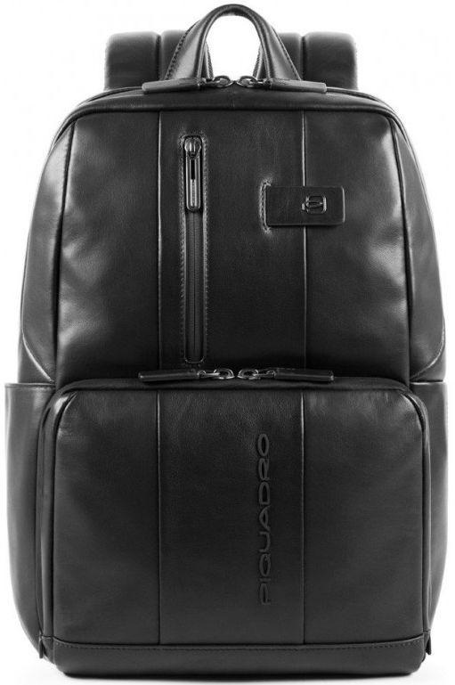 Рюкзак кожаный Piquadro URBAN CA3214UB00_N, 17л, черный