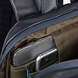 Рюкзак кожаный Piquadro URBAN CA3214UB00_N, 17л, черный, фото 7