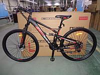 """Горный двухподвесный велосипед Crosser Stanley 26"""" ( 16.5 рама)"""