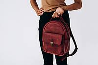 Женский рюкзак ручной работы из натуральной кожи 520