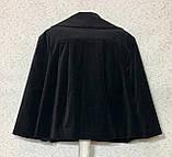 Жакет-болеро женский велюровый(р. XL), фото 9