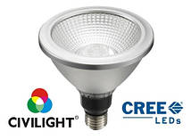 Світлодіодна лампа DPAR38 WP03T18 дімміруєма 18 Вт 220 В 2700К CRI80 CIVILIGHT 4235