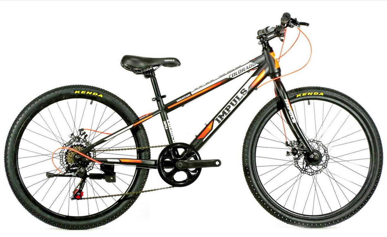 """Велосипед Impuls Colorado 24"""" черно-оранжевый"""