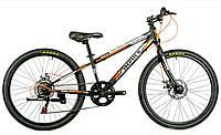 """Велосипед Impuls Colorado 24"""" черно-оранжевый, фото 1"""