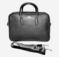 Мужская сумка-портфель натуральная кожа Valenta BM-7036VL