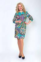 Красивое женское платье из набивного шпателя, фото 1