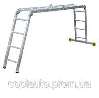 Шарнирная лестница Forte АО52-404 (4х4)
