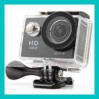 Экшн-камера Action Camera W9s черная!Акция