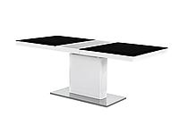 Стол обеденный стеклянный MAGNUM II Signal бело-черный