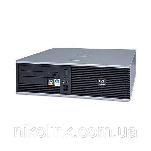 ПК HP Compaq dc5750 SFF sAMD (NoCPU/NoRAM/NoHDD/NoDVD)(4xD DDR2/VGA/DVI) б/у
