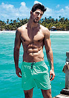 Большие плавательные шорты David Man BS 5950 G 56(3XL) Салатовый David Man BS 5950 G