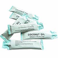 6 шт саше, Специальное кокосовое масло для полоскания рта, Отбеливание зубов, Уход полости рта, оригинал