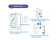Дверная и оконная сигнализация (door/window entry alarm) RL - 9805, фото 5