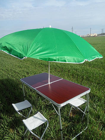 Набор для пикника Folding Table (4 стула) все в комплекте, фото 2