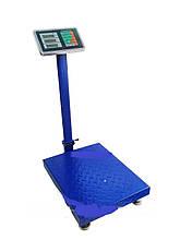 Весы торговые платформенные усиленные 300 кг P6300Z
