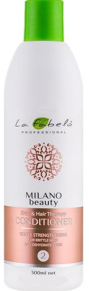Акція -35% Кондиционер La Fabelo MB Skin & Hair Therapy восстанавливающий для ломких волос 300 мл