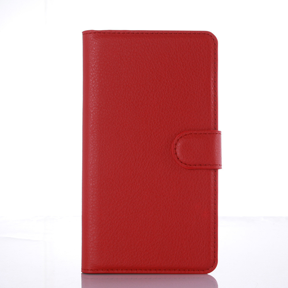 Чехол-книжка Bookmark для Xiaomi Redmi Note 3 red