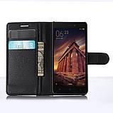 Чехол-книжка Bookmark для Xiaomi Redmi 3 black, фото 5