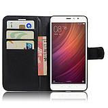 Чехол-книжка Bookmark для Xiaomi Redmi Note 4 black, фото 4