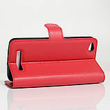 Чехол-книжка Bookmark для Xiaomi Redmi 4A red, фото 3