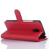 Чехол-книжка Bookmark для Meizu MX5 red, фото 3