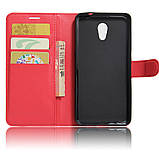 Чехол-книжка Bookmark для Meizu Pro 6 red, фото 4