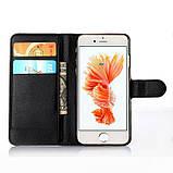 Чехол-книжка Bookmark для iPhone 6 Plus/6s Plus black, фото 4