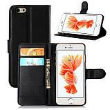 Чехол-книжка Bookmark для iPhone 6 Plus/6s Plus black, фото 5