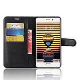 Чехол-книжка Bookmark для Meizu Pro 7 Plus black, фото 5
