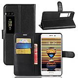 Чехол-книжка Bookmark для Meizu Pro 7 Plus black, фото 6