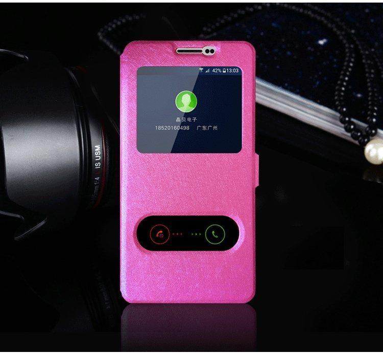 Чехол-книжка Holey для Samsung Galaxy J5 2016/J510 pink