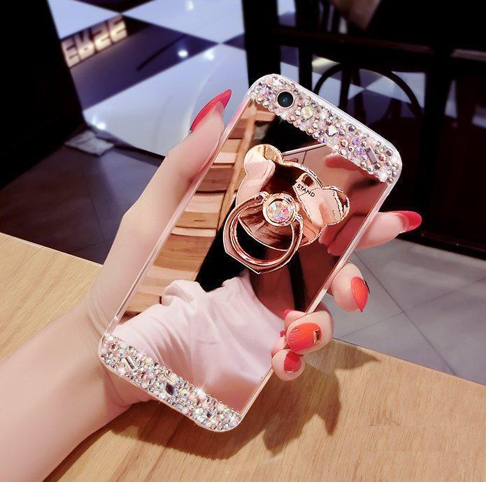 Чохол-накладка TPU Luxury Bear rose gold для Xiaomi Redmi 3S