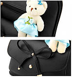 Рюкзак женский Candy Bear bantyk black, фото 5