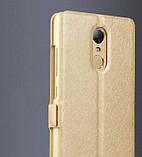 Чехол-книжка Holey для Xiaomi Redmi 5 Plus gold, фото 3