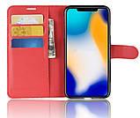 Чехол-книжка Bookmark для HUAWEI Nova 3i red, фото 2