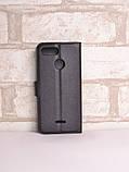Чехол-книжка Bookmark для Xiaomi Redmi 6 black, фото 2