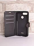 Чехол-книжка Bookmark для Xiaomi Redmi 6 black, фото 3