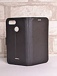 Чехол-книжка Bookmark для Xiaomi Redmi 6 black, фото 4