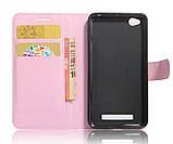 Чехол-книжка Bookmark для Xiaomi Redmi 4A light pink, фото 4