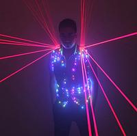 Led одежда Noblest Art жилет с лазерами  (LY31129), фото 1