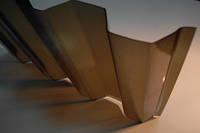 Поликарбонатный шифер бронзовый