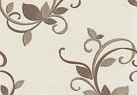 Обои Lanita виниловые на бумажной основе Амрита декор ВКС2-1301бежевый обои Винил(0,53х10,05м.)