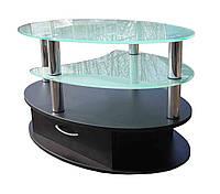 Стеклянный журнальный столик СТ-604