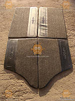 Карта двери ВАЗ 2101 - 2107 ворс - кожзам (без надписей) модель КЛАССИКА (пр-во Россия) ПИР 1205 КС 10130385