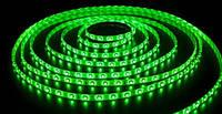 SMD 3528 светодиодная лента 5м Green 300 диодов Зелёная