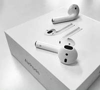 Bluetooth наушники Apple AirPods 2 с тач айди. белые