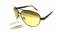 Антифары-очки водителя Crisli, сертификат качества, линзы хамелеоны, стекло, 7 слоёв поляризации, футляр