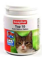 Витамины для кошек Beaphar 13213 Top 10, 180 таблеток